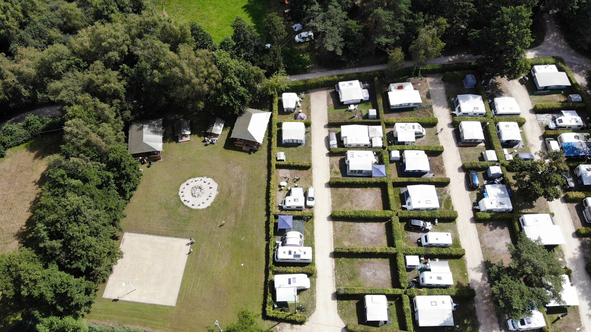 Camping Holsteenbron - Drone