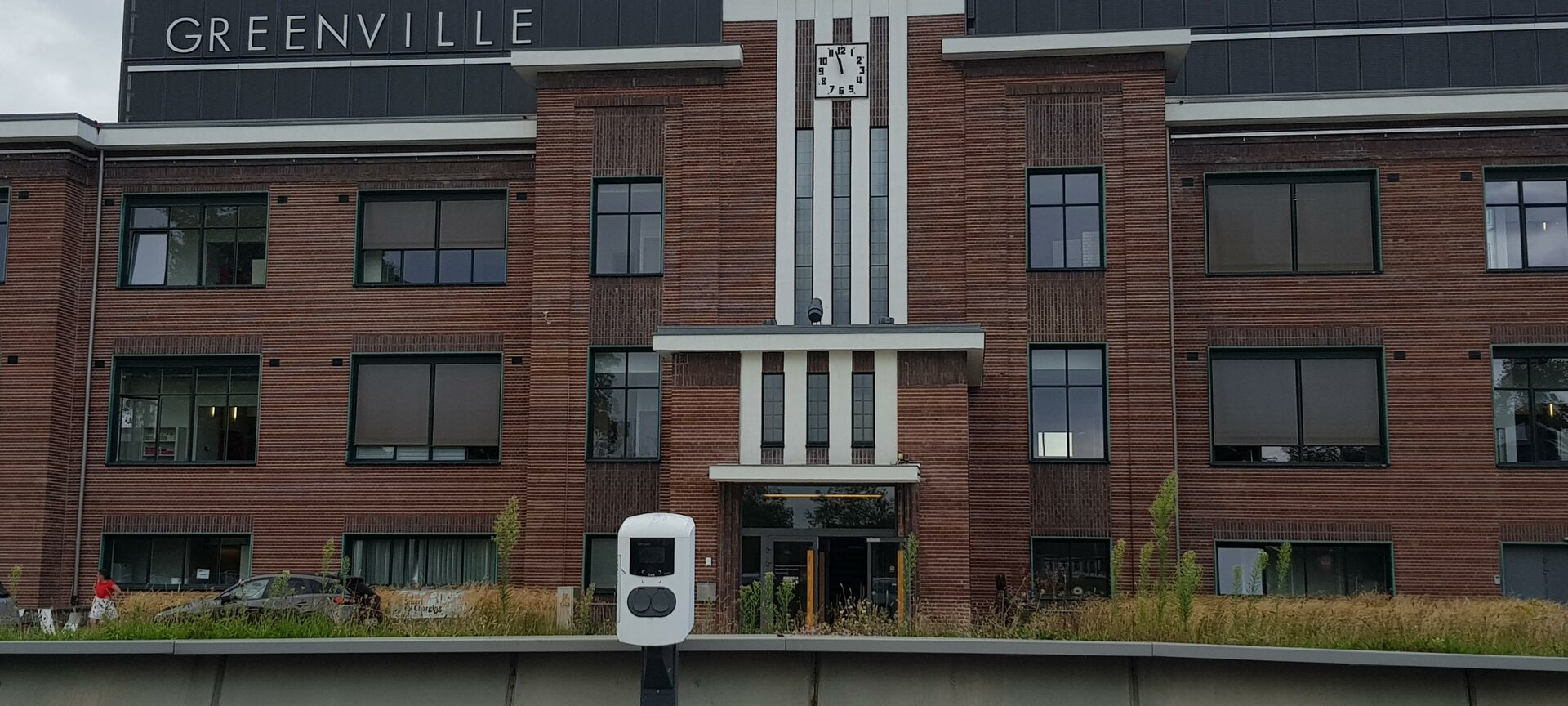 Greenville, cleantech dienstencentrum - Voorgevel Greenville