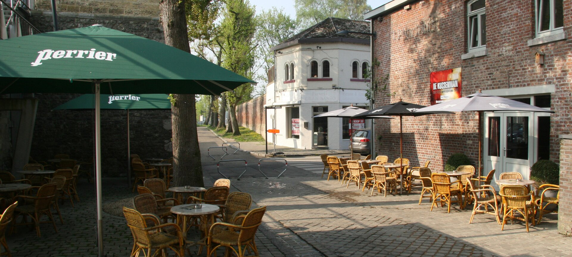 't Poorthuis - terras