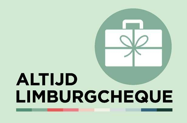 De Altijd Limburgcheque kan je spenderen in Limburgse logies en restaurants